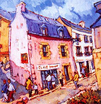 peinture de la galerie Dominique C