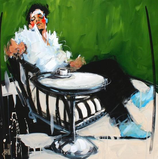 David jamin galerie dominique c for Salon vert 2017